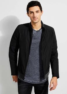 GUESS Men's Philip Moto Jacket  a M