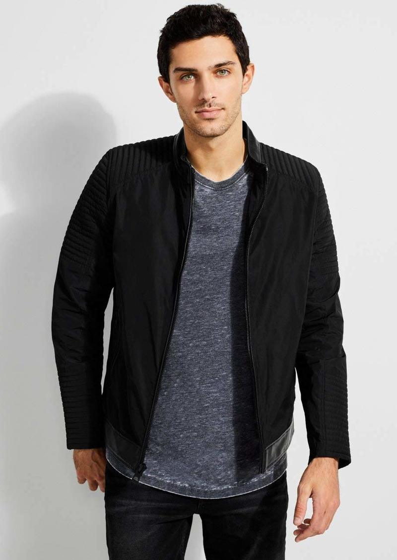GUESS Men's Philip Moto Jacket  a M