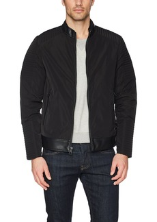 GUESS Men's Philip Moto Jacket  M