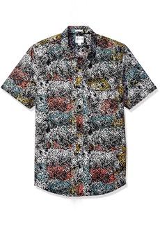 GUESS Men's Painterly Print Shirt  M