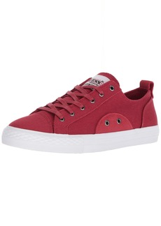 GUESS Men's Provo Sneaker red  Medium US