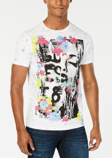 Guess Men's Punk Collage Graphic T-Shirt