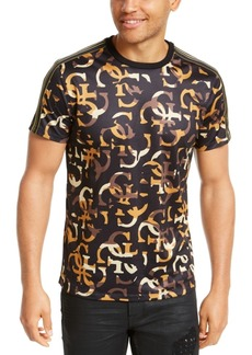 Guess Men's Quattro Perforated T-Shirt