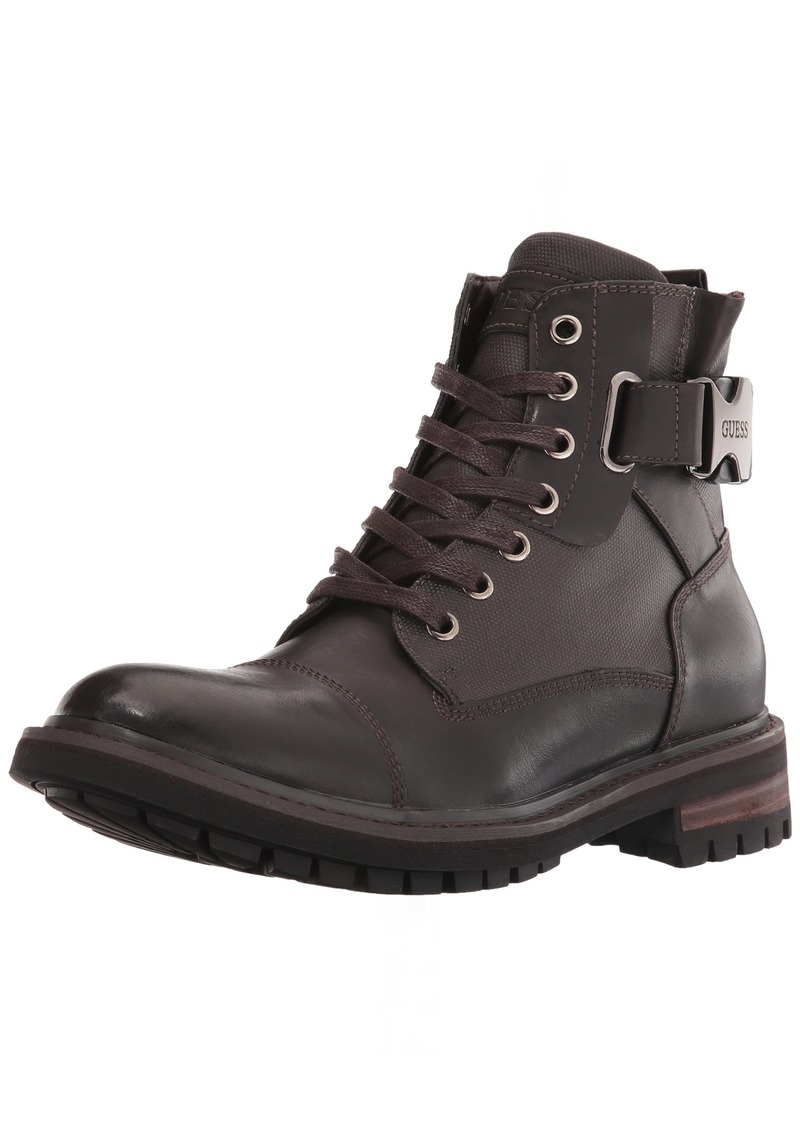 GUESS Men's RAND Combat Boot   Medium US