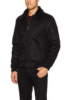 GUESS Men's Redmond Bomber Jacket  L