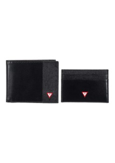 Guess Men's Rfid Wallet Set With Slim Bifold and Card Case Holder