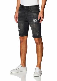 GUESS mens Rip-and-repair Slim Denim Shorts   US