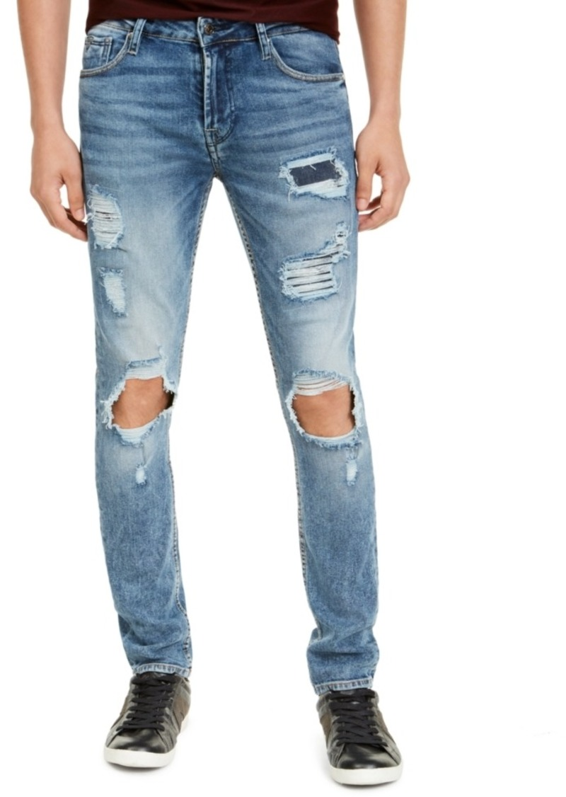 Guess Men's Ripped Skinny Jeans