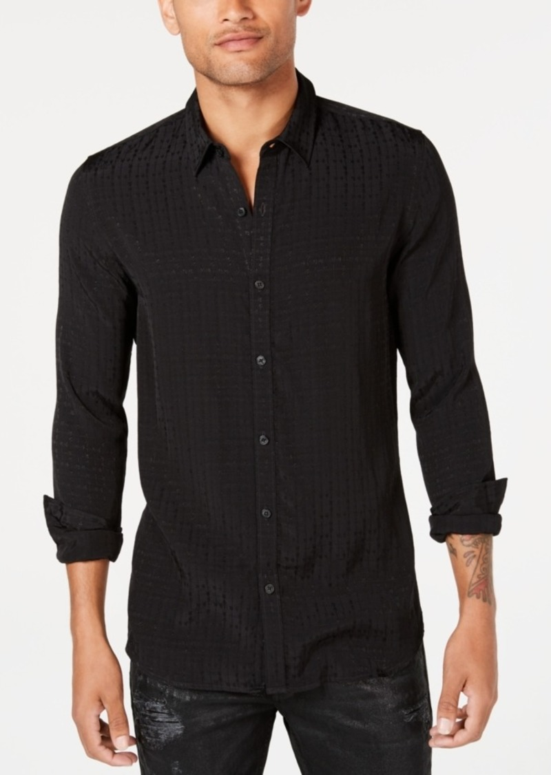 Guess Men's Rock It Textured Shirt