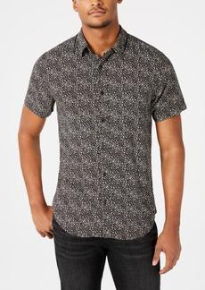 Guess Men's Rogan Punk Leopard Shirt