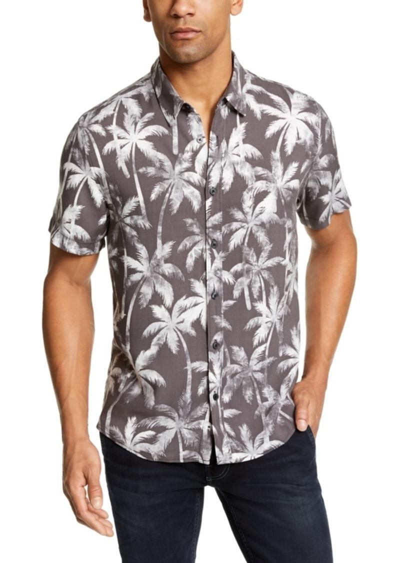 Guess Men's Rogan Venice Palms Printed Shirt