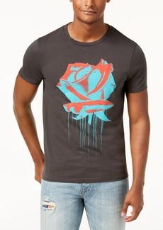 Guess Men's Rose Drip Graphic-Print T-Shirt