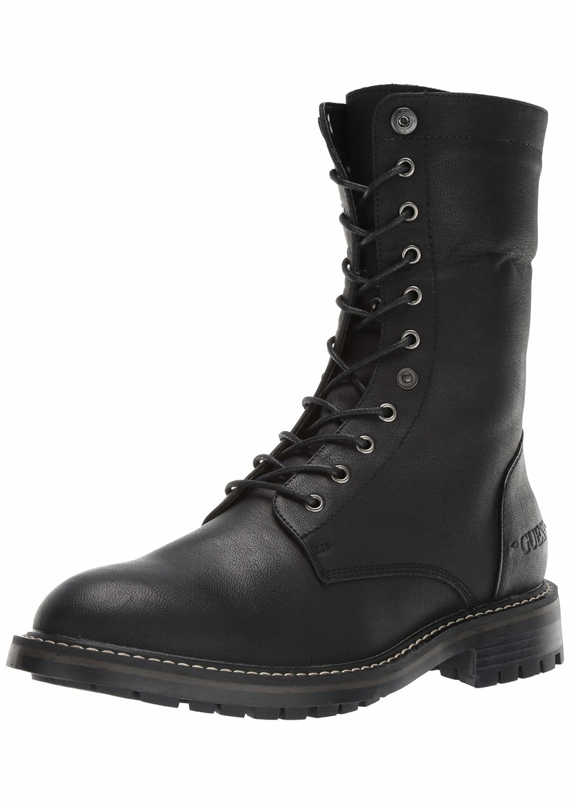 GUESS Men's Rune Combat Boot   M US