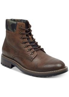 Guess Men's Rutland Camo-Collar Boots Men's Shoes