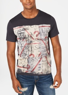 Guess Men's Scrap Logo T-Shirt