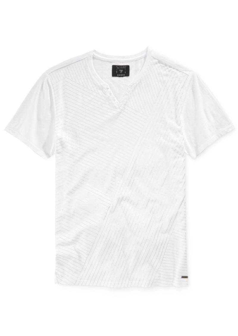Guess Men's Shifted Foil T-Shirt
