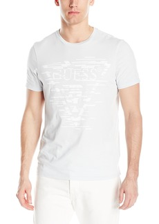 GUESS Men's Shifted Lines Crew Neck T-Shirt  XXL