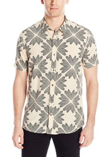GUESS Men's Feather Print Shirt