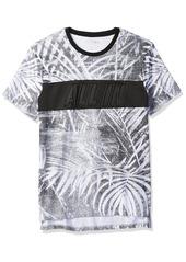 Guess Men's Short Sleeve Basic Along Line in Crew T-Shirt  XL