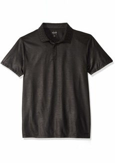 Guess Men's Short Sleeve Mason Stud Polo Shirt  L