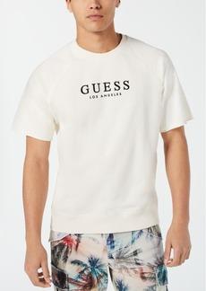 Guess Men's Short-Sleeve Raglan Sweatshirt