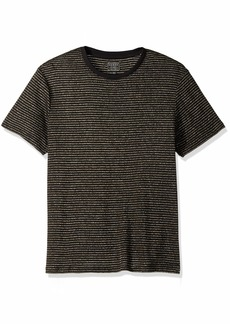 GUESS Men's Short Sleeve Satellite Crew Neck Shirt  S
