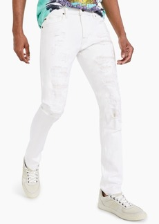 Guess Men's Skinny-Fit Destroyed Jeans