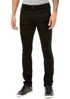 Guess Men's Skinny-Fit Studded Jeans