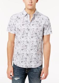 Guess Men's Skull-Print Shirt