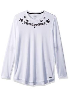 GUESS Men's Sleeve Jordan Bball Long Line  L