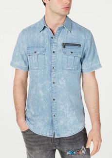 Guess Men's Slim-Fit Denim Shirt