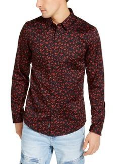 Guess Men's Slim-Fit Floral Shirt