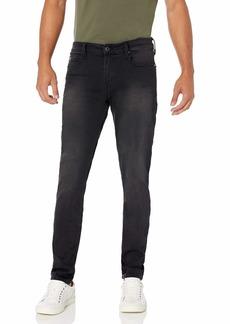 GUESS Men's Mid Rise Slim Fit Tapered Leg Jean  30W X 30L