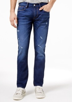 Guess Men's Slim Fit Stretch Ripped Jeans