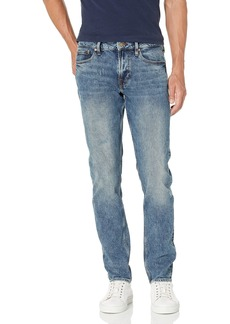 GUESS mens Slim Fit Tapered Leg Jeans   US
