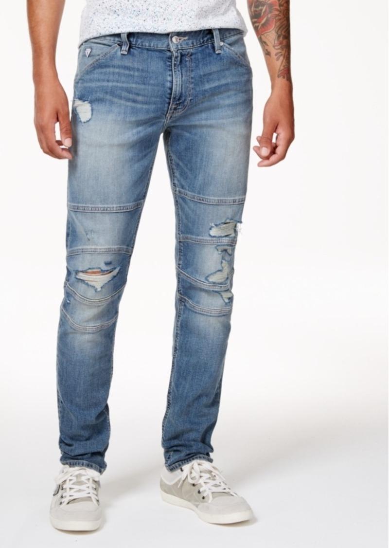 GUESS Mens Slim Taper Jean