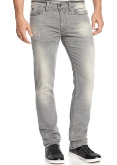 Guess Men's Slim Straight Lonesome-Wash Stretch Jeans