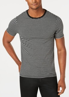Guess Men's Sound Bar Striped T-Shirt