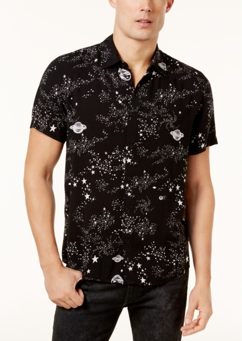 daec174738c20 GUESS Guess Men s Space-Print Shirt Now  44.99