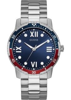 Guess Men's Stainless Steel Bracelet Watch 42mm