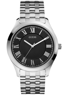 Guess Men's Stainless Steel Bracelet Watch 44mm U0476G1