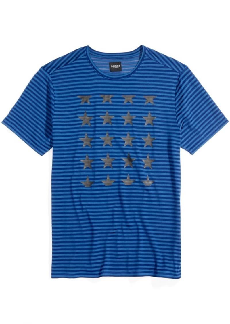 cd13167ac8 GUESS Guess Men's Stars and Stripes T-Shirt | T Shirts