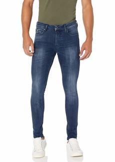 GUESS Men's Mid Rise Super Skinny Fit Jean  36W X 32L
