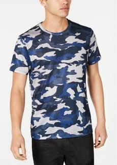 Guess Men's Textured Camo T-Shirt