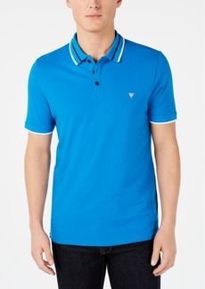 Guess Men's Tipped Polo