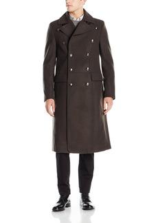 GUESS Men's Tomlin Melange Wool Coat  M