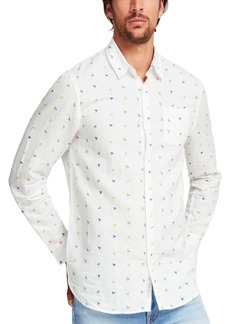 Guess Men's Triangle Print Shirt