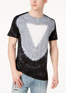 Guess Men's Triangle Tie-Dye T-Shirt