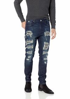GUESS Men's Utility Fit Jean Combat wash Destroy