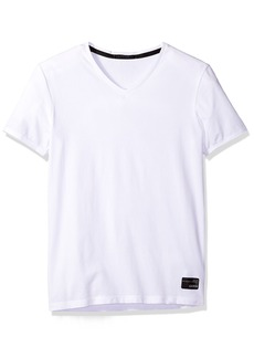 GUESS Men's V Neck T-Shirt  L